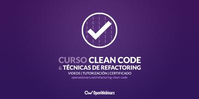 Curso de técnicas de Refactoring y Clean Code