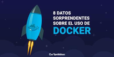 8 datos sorprendentes sobre el uso de Docker