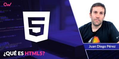 Qué es HTML5