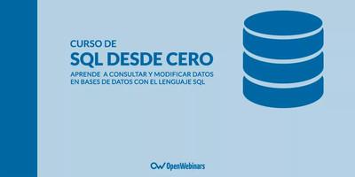 Curso de SQL desde Cero (versión 2017)