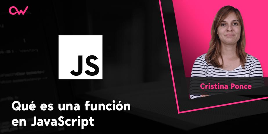 Qué es una función en JavaScript