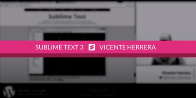 Instalar Sublime Text 3 y Package Controller