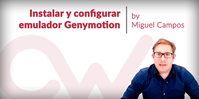 Instala y configura Genymotion, el emulador de Android