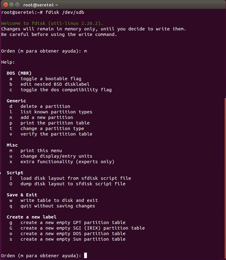 Imagen 2 en 9 comandos básicos Fdisk para gestionar el disco duro