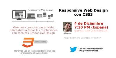 Tutorial de Responsive Web Design con CSS3