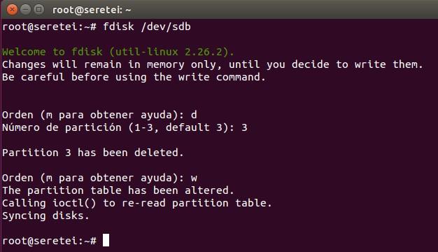 Imagen 4 en 9 comandos básicos Fdisk para gestionar el disco duro