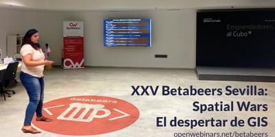 Vídeo BetaBeers Sevilla edición XXV accesibilidad con GIS