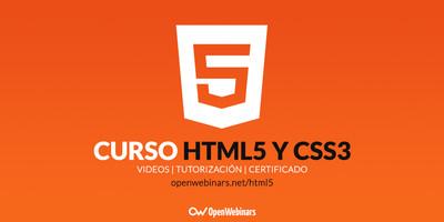 Curso de HTML5 y CSS3