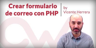 Crear formulario de correo con PHP