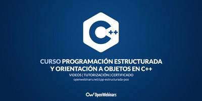 Curso de C++: Programación estructurada y Orientación a Objetos