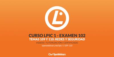 Curso LPIC 1 Examen 102 - Temas 109 y 110: Fundamentos de redes y seguridad