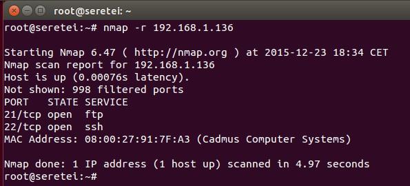 Imagen 15 en Nmap, uso básico para rastreo de puertos