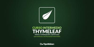 Curso de Thymeleaf intermedio