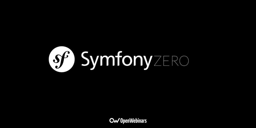 SymfonyZero y SymfonyZero-API