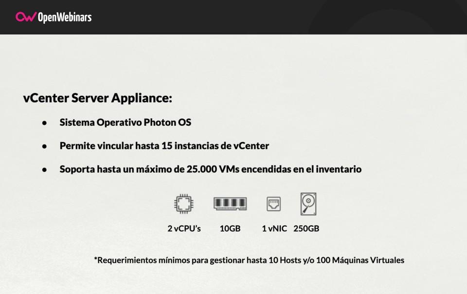 Imagen 0 en Qué es vCenter Server