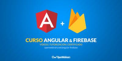 Curso de Firebase y Angular