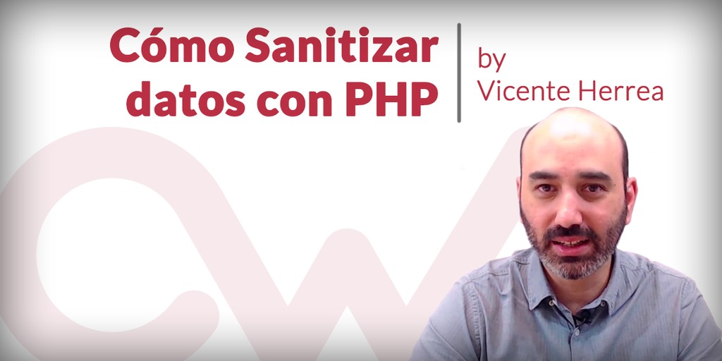 Sanitizar datos en PHP