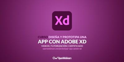 Curso Diseña y prototipa una app con Adobe XD