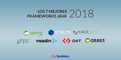 Los 7 mejores frameworks de Java de 2018