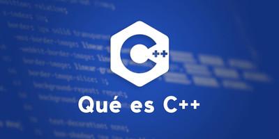 Qué es C++