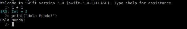 Imagen 1 en Swift 3: Instalación en Ubuntu 16.04