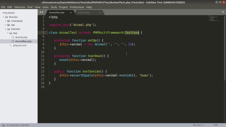 Imagen 0 en Code Coverage, el resultado de tus pruebas unitarias