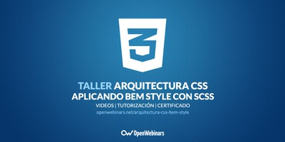 Arquitectura CSS aplicando BEM Style con SCSS