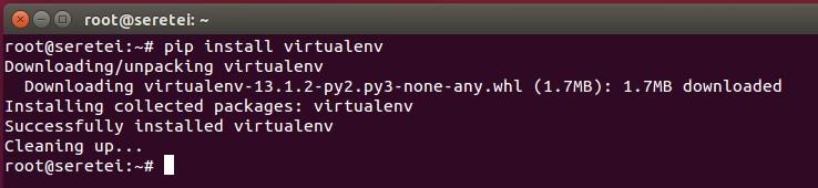 Imagen 7 en Cómo instalar Django 1.9 en Ubuntu 15.10