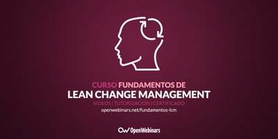 Curso de fundamentos de Lean Change Management