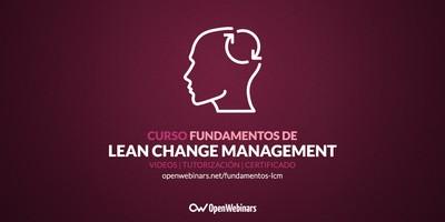 Curso de fundamentos de Lean Change Management