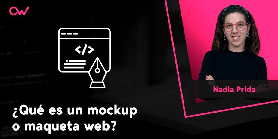 Qué es un mockup o maqueta web