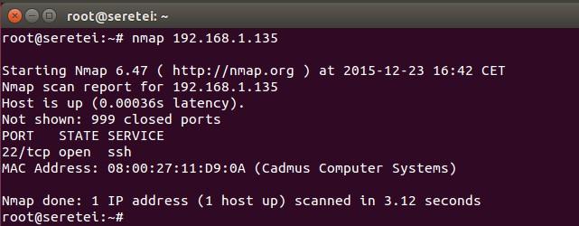 Imagen 2 en Nmap, uso básico para rastreo de puertos