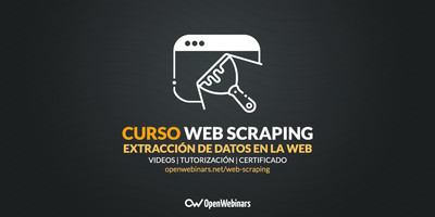 Curso de Web scraping: Extracción de datos en la Web
