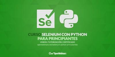 Curso de Selenium con Python para principiantes