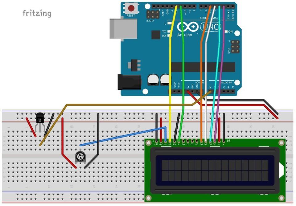 Imagen 0 en Tutorial Arduino: Pantalla LCD