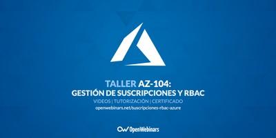 AZ-104 Taller 2A: Gestión de suscripciones y RBAC
