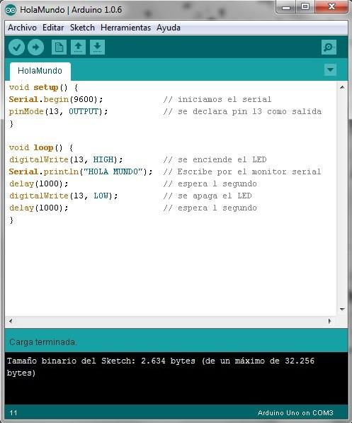 Imagen 7 en Tutorial Arduino: Ejemplo Semáforo