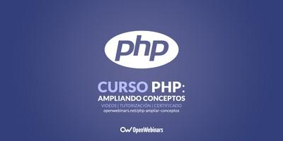 Curso de PHP: Ampliando conceptos