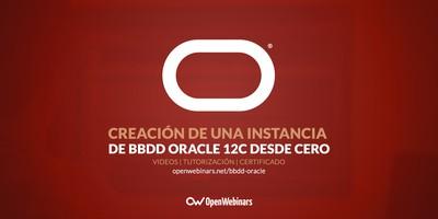 Creación de una instancia de BBDD Oracle 12c desde cero
