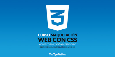 Curso de maquetación web con CSS