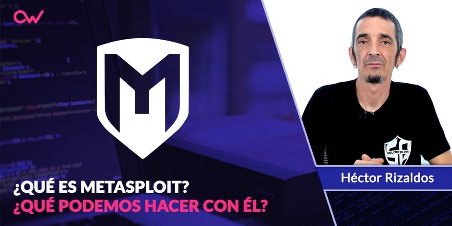 Qué es Metasploit framework
