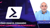 Como usar Show-command en PowerShell para administradores GUI