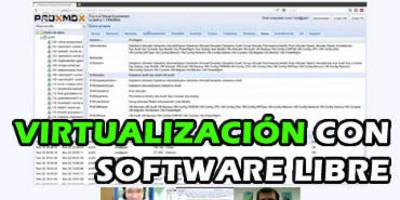 Virtualización con KVM, OpenVZ y Proxmox