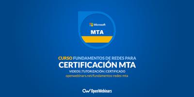 Curso de fundamentos de redes para Certificación MTA