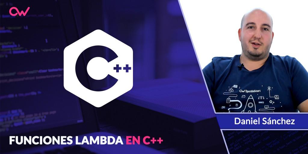 Qué son las funciones lambdas en C++