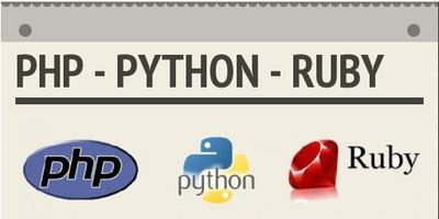 Empleo: PHP vs Python vs Ruby