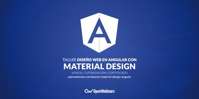 Diseño web con Material Design para Angular