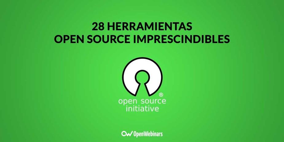 28 herramientas open source imprescindibles