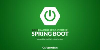 Curso de desarrollo de una API REST con Spring Boot