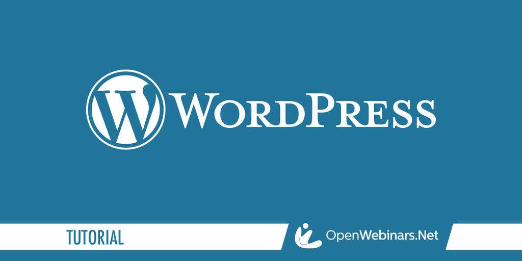 WordPress tutorial: ¿Qué es?